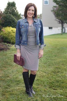 How to Style a Summer Dress for Fall