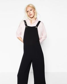Image 2 of CULOTTES WITH BRACES from Zara