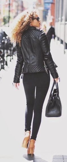 #street #style / all black everything