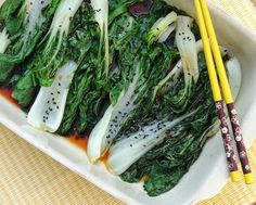 Easy Steamed Bok Choy Salad, one of 12 Best Recipes of 2013 from A Veggie Venture