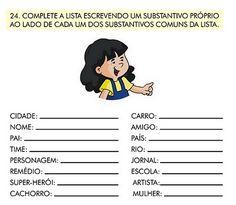 Resultado de imagem para atividades de portugues com respostas para o 6o ano