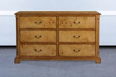 Shop online for traditional bedroom furniture at Lock Stock and Barrel Furniture. Walnut bedroom furniture and mahogany bedroom furniture available with interest free credit. Walnut Bedroom Furniture, 6 Drawer Chest, Walnut Veneer, Brass Handles, Golden Brown, The Hamptons, Craftsman, Drawers, Traditional