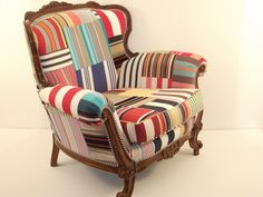London Lisbonite: Pretty in patchwork: the chair project