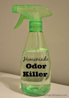 Homemade Odor Killer - Keeping Life Sane