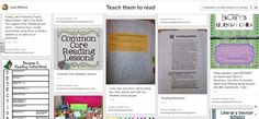 """Teach them to read"": excellent board by  Lesa Wilburn"