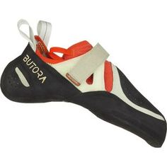 Comfortable downturned performance climbing shoes wrapped in NEO Fuse sticky rubber, the Butora Acro (wide fit) climbing shoes are best-suited for steep sport climbing and bouldering. Available at REI, Satisfaction Guaranteed. Rock Climbing Shoes, Climbing Outfits, Sport Climbing, Climbing Clothes, Acro, Unisex, Natural Leather, Types Of Shoes, Bouldering