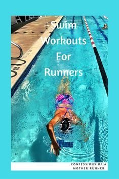 Stay cool this summer with swimming. A great way to supplement your running routine. Sharing a few of my favorite simple swim routines. Swim Workout for Runners (Swimming Training) Cross Training For Runners, Cross Training Workouts, Triathlon Training, Half Marathon Training, Running Training, Training Tips, Sprint Triathlon, Ironman Triathlon, Weight Training