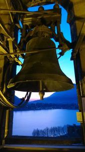 An excellent way to see Lecco and Lake Como is from above atop the bell and clock tower Campanile di San Nicolò. This is Lecco's top tourist attraction but is Lake Como Italy, Tower, San, Rook, Computer Case, Building