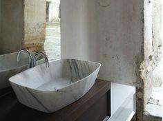 Countertop Carrara marble washbasin Class Collection by Arlex