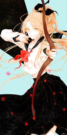 Choáng váng với bộ ảnh 12 cung hoàng đạo vẽ phong cách Anime
