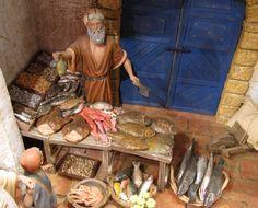 Asociación de Belenistas de Badajoz - Belén 2015-2016 Fontanini Nativity, Belem, Miniature Crafts, Small World, Religious Art, Tenerife, Dollhouse Miniatures, Decoration, Action Figures