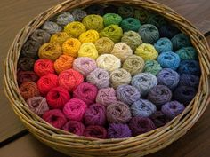 Ahhhh....more lovely yarn!  Love all of the colors!
