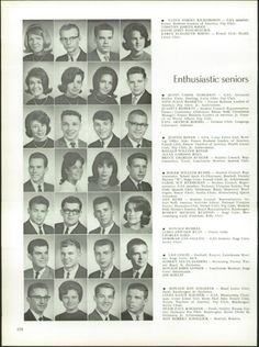 Rob is 2nd from left on next to bottom row.  Six people on this page Rob went with to Cheviot School, Gamble Jr. High and West Hi. One of those is a current Facebook friend.  Also, 3 other current FB friends on this page.  - 1965 Western Hills High School Yearbook via Classmates.com