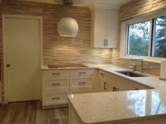 Quartz Countertops Design Ideas, Pictures, Remodel, and Decor - page 7