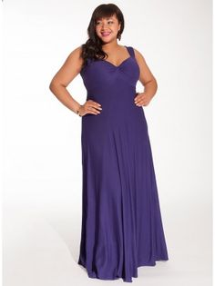 2e475c73fb1 Avril Plus Size Maxi Dress in Violet with Shrug Plus Size Maxi Dresses