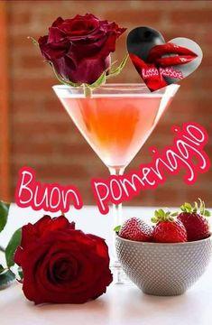 Buongiorno Foto Buon Pomeriggio Immagini ,  #buon #buongiorno #foto #immagini #pomeriggio Martini, Tableware, Gif, Beautiful, Frases, Dinner, Dinnerware, Dishes, Martinis
