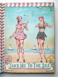 Everyday is a Holiday: A peek into our Art Journals