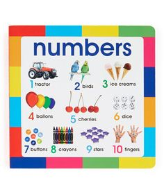 Loving this My First Book: Numbers Hardcover on #zulily! #zulilyfinds