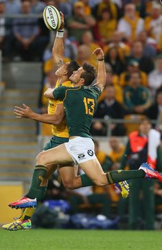 """"""" Israel Folau of the Wallabies is tackled by JJ Engelbrecht of the Springboks """" Duane Vermeulen, Israel Folau, Hot Rugby Players, Rugby Sport, World Rugby, Rugby League, Olympic Games, Football, Sports"""