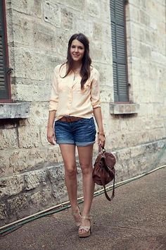 cute summer outfits waterfalls clothes style for summer Summer Fashion Outfits, Cute Summer Outfits, Short Outfits, Spring Summer Fashion, Spring Outfits, Casual Outfits, Summer Clothes, Moda Fashion, Womens Fashion
