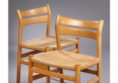 Vintage Bm1 Dining Chairs By Børge Mogensen For C.M. Madsen, Set Of 6 photo 5