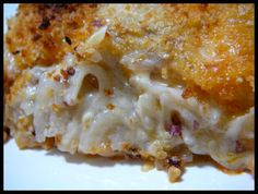 Buffalo Chicken & Potato Casserole