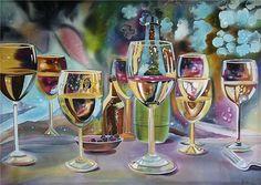 Кто о чём, а стекольщик о стекле: прекрасные работы художников - Ярмарка…