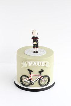 Cycling cake  by Rebecca Davies Cake Design