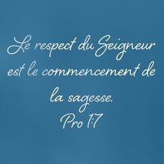 Proverbes 1: 7