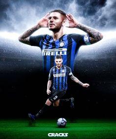 Milan Football, Football Icon, Best Football Players, Soccer Players, Soccer Poses, Mauro Icardi, Soccer Skills, Football Wallpaper, Valentino Rossi