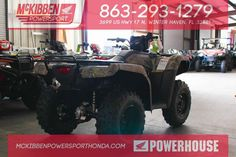 New 2016 Honda FourTrax Foreman 4x4 with Power Ste ATVs For Sale in Florida. 2016 HONDA FourTrax Foreman 4x4 with Power Ste, McKibben Powersport Honda is a family owned and operated level 5 Honda Powerhouse dealership in Winter Haven, Florida. We are located at 3699 US HWY 17 N Winter Haven Fl, 33881 between US HWY 92 and Havendale Blvd. We proudly serve Polk county and the surrounding areas, to include Lakeland, Auburndale, Bartow, Kissimmee, Lake Alfred, and Sebring. We are a Honda…