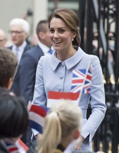 Catherine, Duchess of Cambridge visits the Mauritshuis Gallery on October 11, 2016 in The Hague, Netherlands.