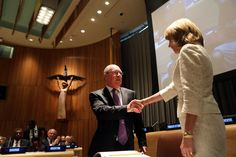 U.S. wavers on arms trade treaty at the U.N. - Both Russia & China abstained on the treaty