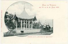 """Pavelló  de la """"Societat d'Agricultura"""": Fira de València,  1902"""