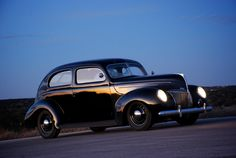Ryan's 1939 Ford Tudor, and great inspiration for the 38!