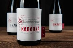 Pastor Winery's Red Wines — The Dieline - Branding & Packaging Design
