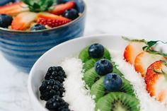 Breakfast Bowl with Fruits and Coconut — PixaSquare | Free Hi-Res Stock Photos