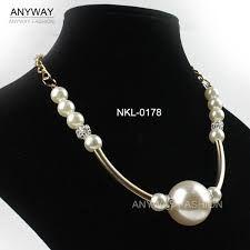 Image result for collares de perlas grandes
