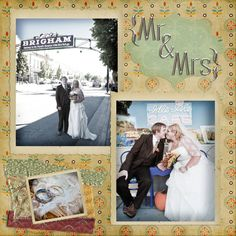 #wedding #scrapbook
