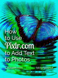 Wondering how to use Pixlr to make graphics with text overlays? Pixlr.com is well-known as a free photo editing tool. But you can also use it to make quote graphics, and much more. Lots of tips and a tutorial at the blog post! --> http://louisem.com/6962/how-to-use-pixlr-tutorial