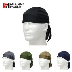 5 Color Outdoor Sports Quick Dry Cycling Cap Headscarf Headband Bicycle Cap Men Riding Bandana Pirate Hat Free Shipping* ** Want additional info? Click on the image.