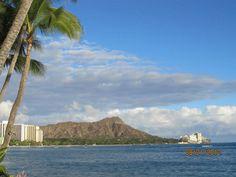Diamond head; Ohau, Hawaii (taken from Waikiki Beach)