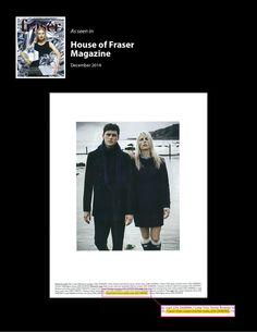 House of Fraser Magazine #Fashion #Winterwear