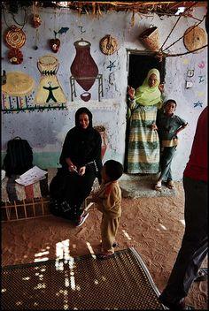 A Berber family in Egypt