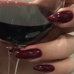 In seek out some nail designs and some ideas for your nails? Listed here is our listing of must-try coffin acrylic nails for modern women. Red Aesthetic, Aesthetic Pictures, Urban Aesthetic, Cute Nails, Pretty Nails, Uñas Diy, Nail Polish, Nail Inspo, How To Do Nails
