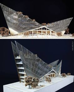 MAKE architects MAKE architects – – Best Picture For Architec. Concept Models Architecture, Maquette Architecture, Architecture Model Making, Futuristic Architecture, Architecture Details, Architecture Student, Triangular Architecture, Bamboo Architecture, Windows Architecture