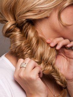 I love fishtail braids