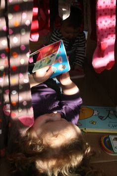 Baby Play: Cardboard Box Play Tunnel - The Imagination Tree