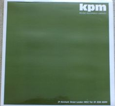 "Various Artists - ""Amusement"" (KPM Music Library 1976)"