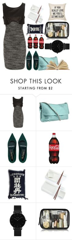 """""""Throw and Go Dress - Contest"""" by lablanchenoire ❤ liked on Polyvore featuring Jason Wu, Elie Tahari, Villeroy & Boch and CLUSE"""